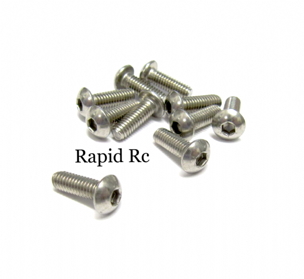 stainless Steel socket Button head Bolt A2 M4x10mm